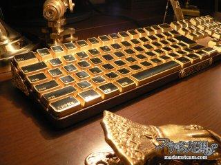 Mac純正キーボードをスチームパンクキーボードに2(改造編)