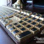 Mac純正キーボードをスチームパンクキーボードに3(修正編)