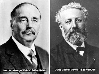 古典SFの2大巨匠! ジュール・ヴェルヌとH・G・ウェルズの比較