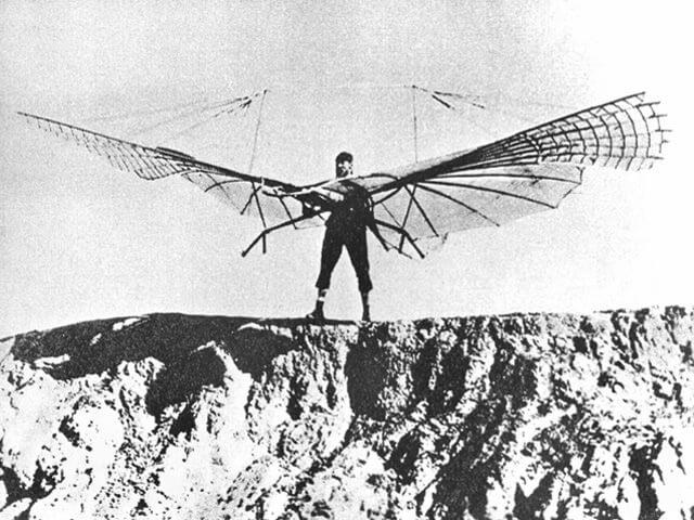 「リリエンタールグライダー」空を飛ぶ夢