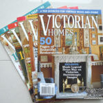 ヴィクトリアンなお部屋づくりに役立つ雑誌『VICTORIAN HOMES』