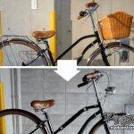 「昭和レトロ自転車(3)」自転車パーツ交換・改造