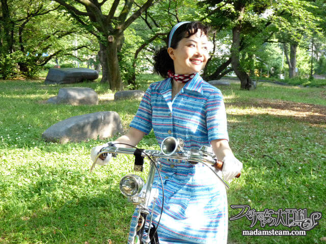 「昭和レトロ自転車(7)」銀輪は唄う 黒糖号完成!