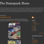 美しいスチームパンクインテリアのブログ『The Steampunk Home』