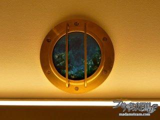 潜水艦のロマンたっぷり船舶窓:ノーチラス号納戸改造記【6】