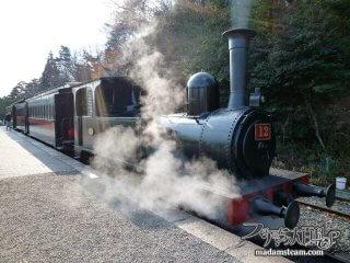 さようなら日本最古の蒸気機関車 「博物館明治村(1)」