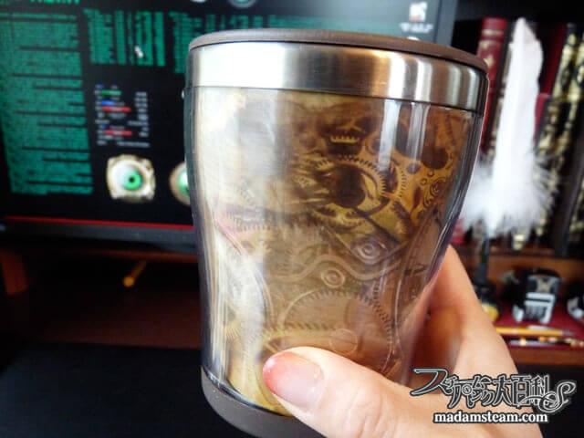 「デコールマグ」機械仕掛けのマイマグカップ