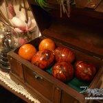 「木目塗装の方法」プラスチックをマホガニーに