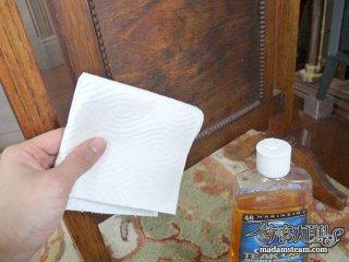 家具をピカピカに保つ方法・常備品の木製品用メンテナンスオイル
