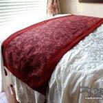 寝室改造記3「手作りベッドライナー」