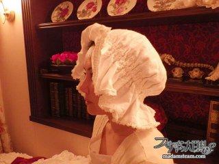眠る時のエレガントな帽子・ナイトキャップを作ってみませんか?