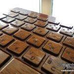 美しすぎる! 職人芸のLIFE iMac専用木製キーボードカバー購入