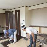 蒸気邸改造記2:養生と撤去(05/20)
