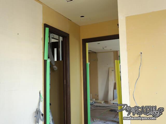 蒸気邸改造記7:壁工事と企画ノート(06/04-06/08)