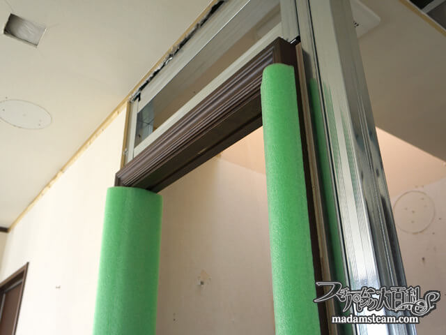 蒸気邸改造記8:ドア枠と家具職人(06/04-06/09)