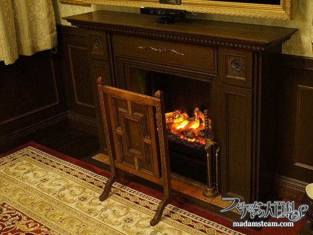 蒸気邸改造記16:スーパーリアルな蒸気式電気暖炉