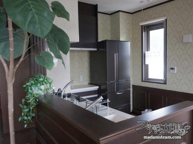 蒸気邸改造記22:木目と大理石のキッチンリフォーム