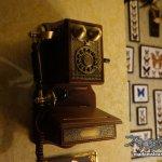 アンティーク&スチームパンクな壁掛け電話機