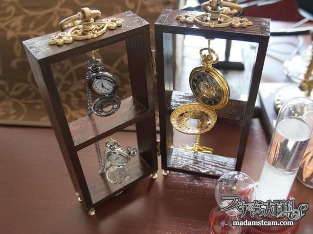 「懐中時計ラックの作り方」コレクションを美しく展示