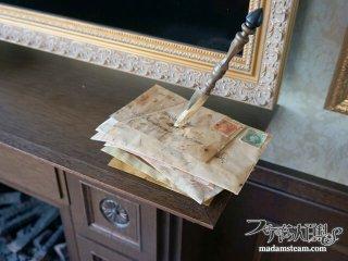 ホームズの奇妙な癖とは? 手紙束のペーパナイフスタンドをDIY