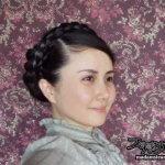 自作のカチュームでユーリア・ティモシェンコ氏の髪型を作ってみました