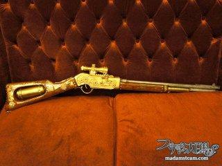 悪漢モラン大佐の驚異の銃! スチームパンクライフルの作り方