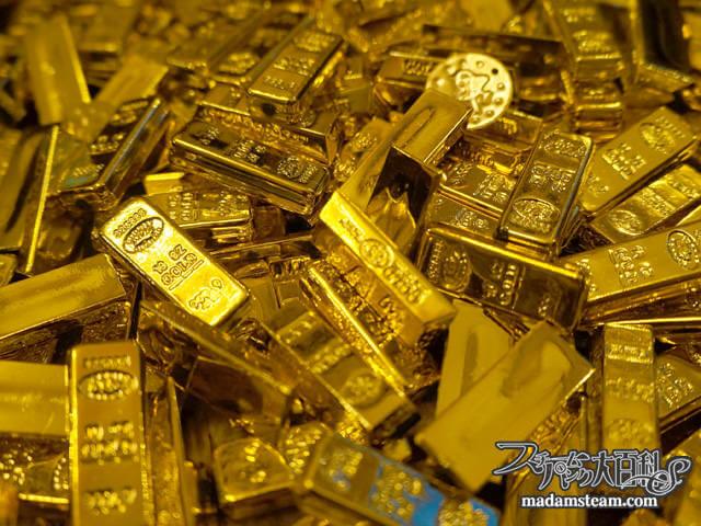 スチームガーデン7:金塊のお宝プレゼント(※企画は終了しました)