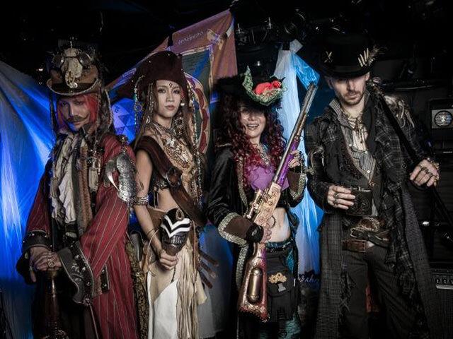 スチームガーデン7(ペルシャの海賊)in渋谷