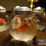 「金魚(フィギュア)の瓶詰め」の作り方&ディスプレイ