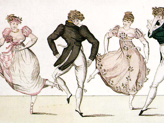 優雅なダンス「カドリーユ」を踊りませんか?