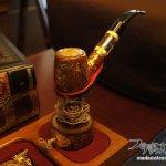 歯車のパイプレスト(パイプ立て)「AYIN愛煙」