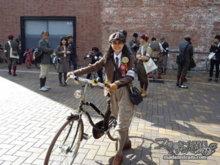 ツイードラン(Tweed Run)2014 in 名古屋に参加しました!