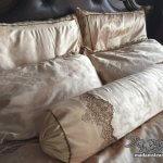 ベッドカバー2組でおそろいのベッドセットを作る