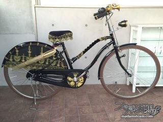 ツイードランとネオヴィクトリアン自転車「黒糖号」