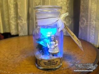 薬瓶とアリスのミニテラリウム【不思議の国のアリスシリーズ1】