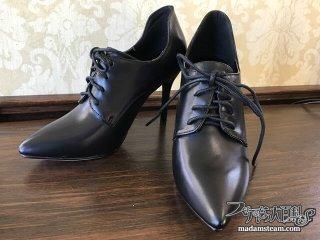 女のダンディズムとハイヒールと靴磨きと【テーラー五十嵐(1)】