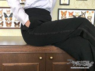 女性のための燕尾服用パンツカスタマイズ法【テーラー五十嵐(3)】