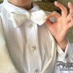 礼装用小物・蝶ネクタイやチーフを手作りしよう【テーラー五十嵐(5)】