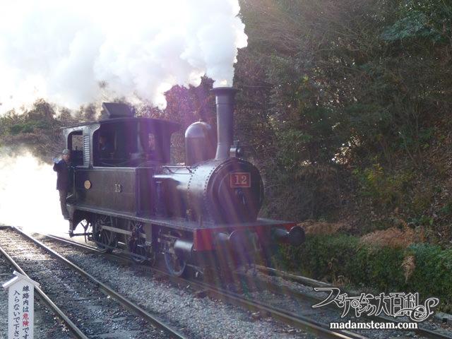 明治村・蒸気機関車