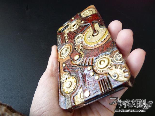 Steampunk iPhone