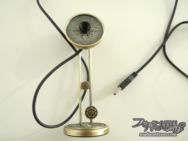 Steampunk Web Camera