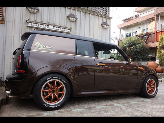 Steampunk BMW MINI CLUBMAN