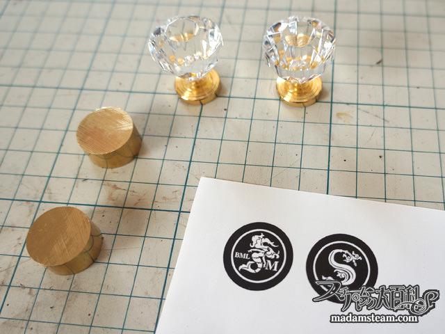 シーリングスタンプの作り方