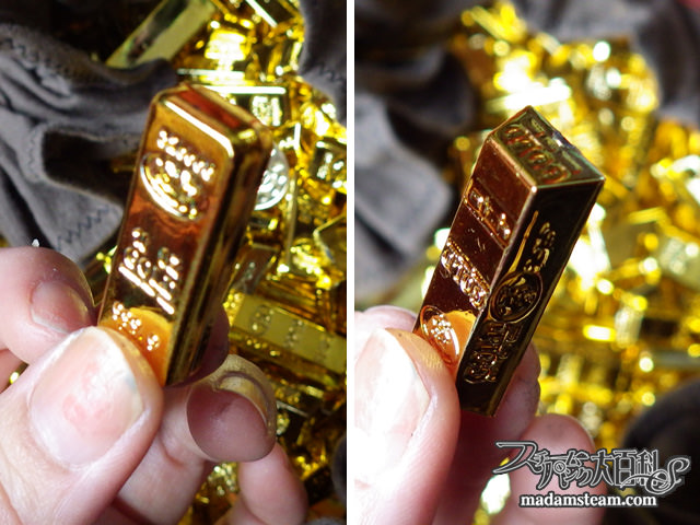 金塊のお宝プレゼント
