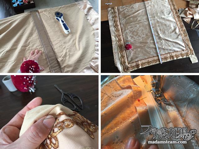 手作りのベッドセット