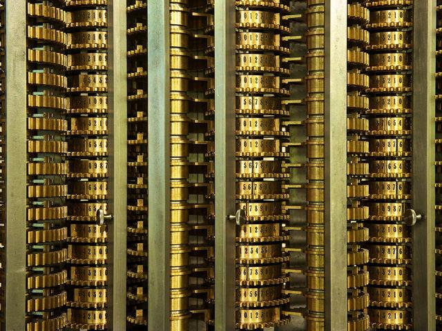 ディファレンスエンジン計算機