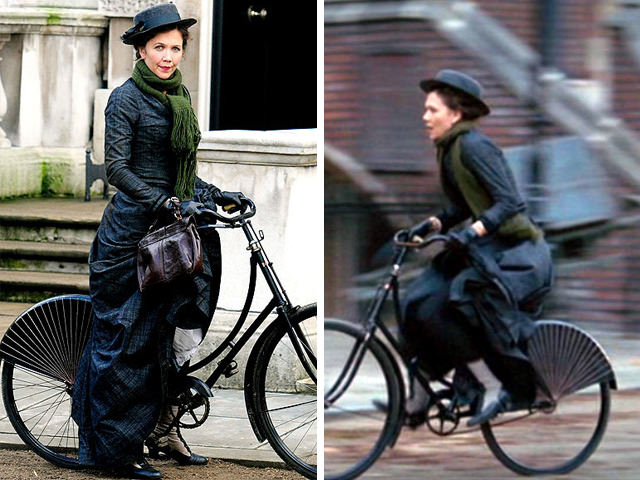 自転車とドレスガード・スカートガード