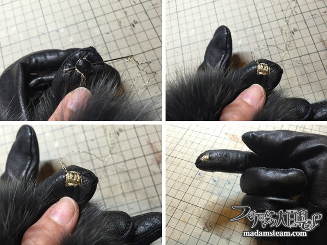 愛用の手袋をスマホ手袋にする方法