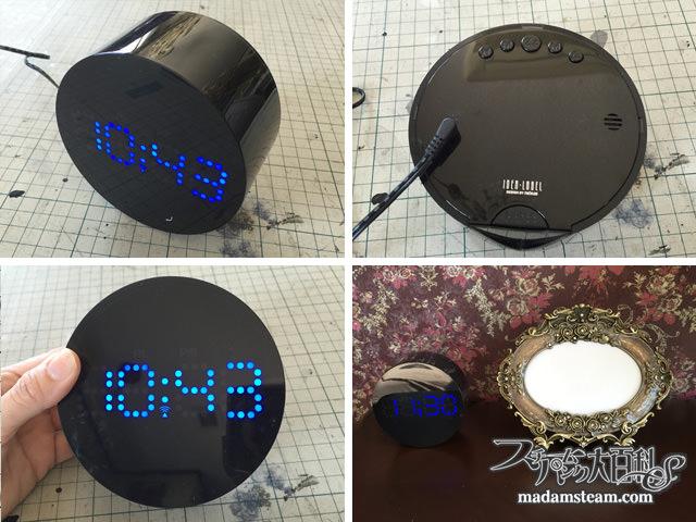 デジタルニキシー時計