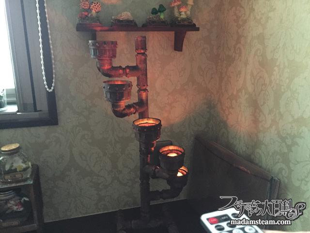 インダストリアル多肉ランプ